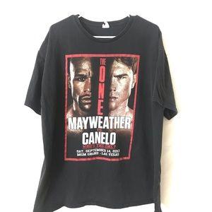 2013 Mayweather Canelo fight shirt